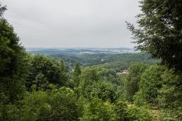 Ausblick vom Harzer-Hexen-Stieg auf Lerbach