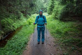 Regenkleidung ist Pflicht im Harz