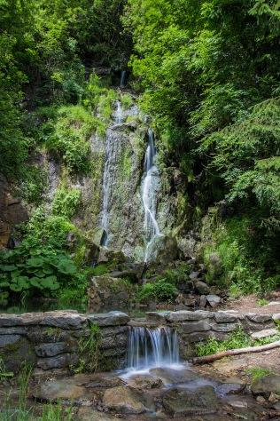 Der Königshütter Wasserfall