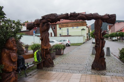Start/Ziel Harer-Hexen-Stieg in Thale
