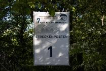 Der erste Streckenposten auf dem Drachenfels