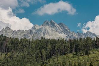 Panorama mit unbekannten Gipfeln