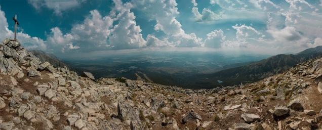 Panorama vom Predne Solisko