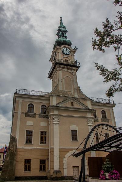 Das Rathaus von Kezmarok