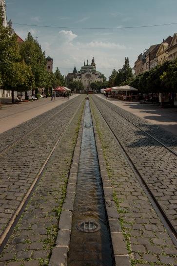 Der Boulevard von Kosice