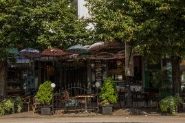 Ein Cafe in Kosice