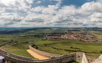 Aussicht von der Zipser Burg