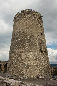 Der Bergfried der Zipser Burg