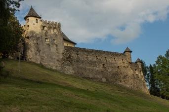 Auf dem Weg zur Lublauer Burg