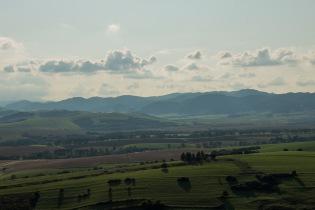 Aussicht von der Lublauer Burg