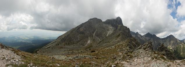 Panorama mit Tatra-Vorland