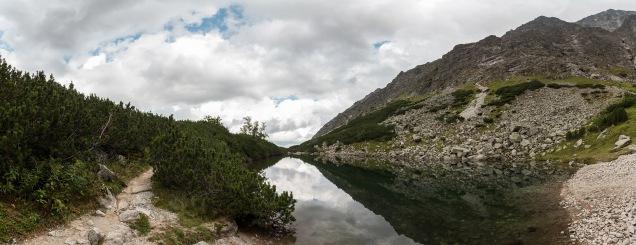 Unbekannter See neben dem Grünen See