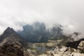Blick vom Gipfel Richtung Slowakei
