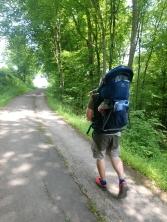 Der Wanderpal mit ganz besonderem Gepäck