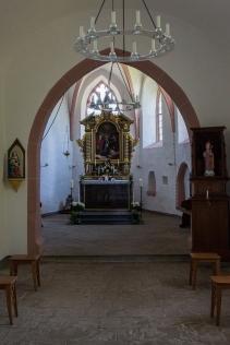 Blick in die Kapelle